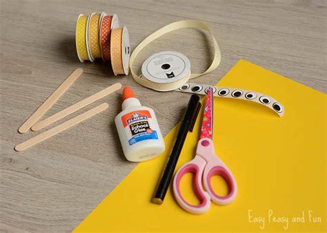 ribbon puppet craft ribbon puppet craft crafts for easy 5333