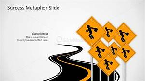 Free Path To Success Road Template Powerpoint Vectors