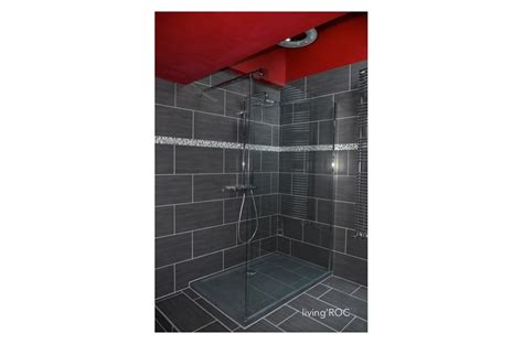 granite stone shower base spacium trendy gray