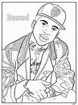 Coloring Pages Hop Hip Homies Eminem Rap Adult Dance 2pac Printable Activity Dre Dr Getcolorings Kanye West Him Bun Sheets sketch template