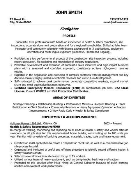 Firefighter Promotion Resume Exles by 25 Unique Firefighter Resume Ideas On Resume Skills Resume And Resume Ideas