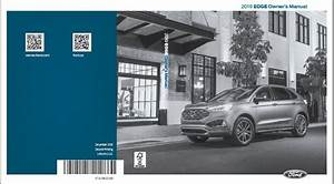 2019 Ford Edge Owners Manual