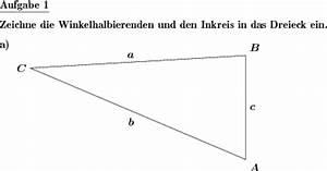 Inkreis Dreieck Berechnen : dreieck mittelsenkr winkel seitenhalbierende h he individuelle mathe arbeitsbl tter bei dw ~ Themetempest.com Abrechnung