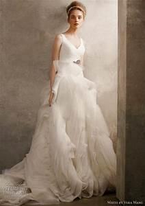 vera wang vera wang organza tulle size 6 size 3 wedding With used vera wang wedding dresses