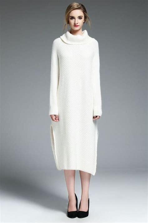 white cowl neck sweater 139 99 white cowl neck sweater dress