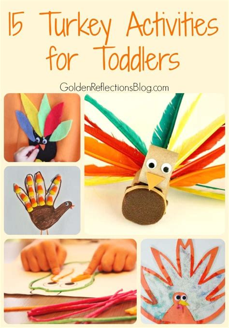 turkey activities  toddlers toddler age