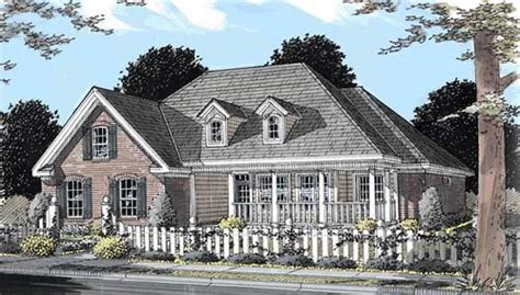 Style House Plans 1604 Square Foot Home 1 Story 3