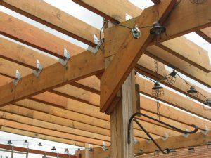 post brackets building  pergola pergola
