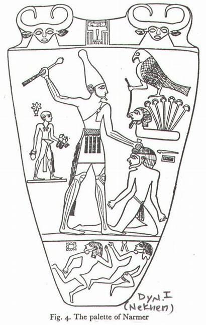 Narmer Paleta Palette Diagram Daiquiri Blues Rei