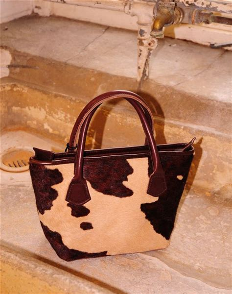 Cowhide Company lomand cowhide handbag the cowhide company