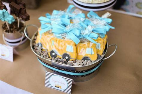 construction truck themed 1st birthday party planning ideas kara 39 s party ideas construction truck themed 1st birthday