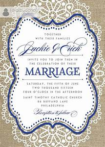 10 best wedding invitations images on pinterest With royal blue rustic wedding invitations