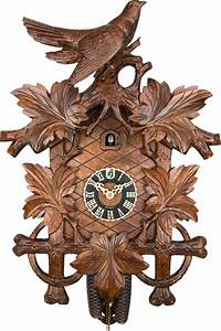 Cuckoo, Clock, 8-day-movement, Carved-style, 61cm, By, H, U00f6nes, 6