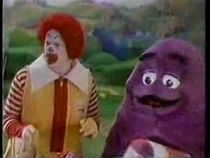 Retro McDonalds Commercial - Hamburglar's Stripes - YouTube