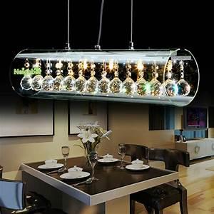 new modern crystal led pendant light for home suspension With modern pendant lighting for dining room