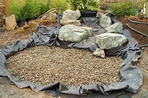 Wasserlauf Im Garten : kies und steine am untergrund auflegen wasserlauf pinterest ~ Orissabook.com Haus und Dekorationen
