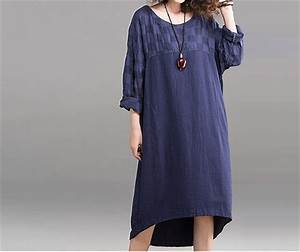 robe en lin grande taille oh babou With robe en lin grande taille