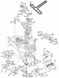 Ayp  Electrolux J2118aa  2004  Parts Diagram For Mower Deck