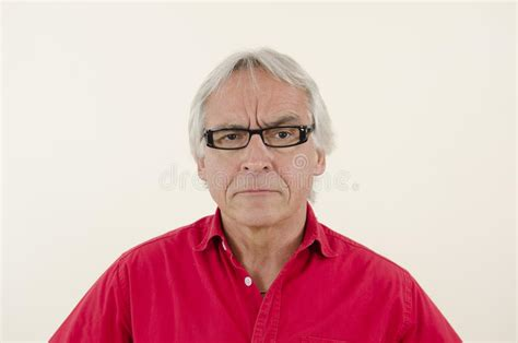 aggressive senior man stock photo image  violent