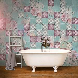 Retro Fliesen Bad : die besten 17 ideen zu rosa fliesen auf pinterest badezimmer einrichtung beton badezimmer und ~ Sanjose-hotels-ca.com Haus und Dekorationen