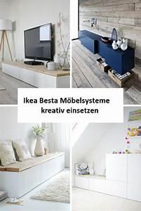 Ikea Kallax Flur : ikea besta einheiten in die inneneinrichtung kreativ integrieren ~ Markanthonyermac.com Haus und Dekorationen