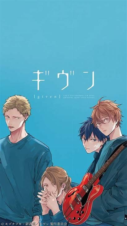 Given Anime Poster Fondo Pantalla Manga Wallpapers