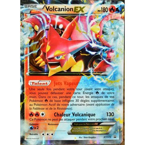 Carte Pokémon Xy173 Volcanion Ex 180 Pv  Achat Vente
