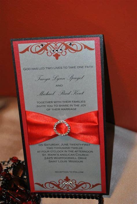 red black  silver wedding red silver  black