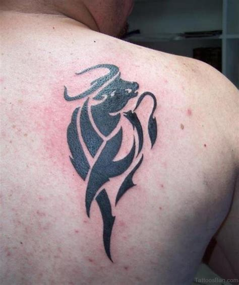 fabulous zodiac shoulder tattoos