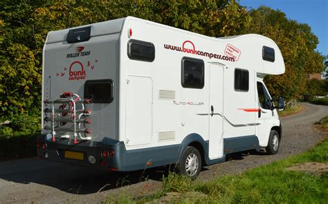 Bunk Campers 6 Person Motorhome Hire Ireland   6 Person