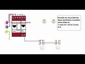 Double Va Et Vient : schema raccordement cablage interrupteur double va et ~ Nature-et-papiers.com Idées de Décoration