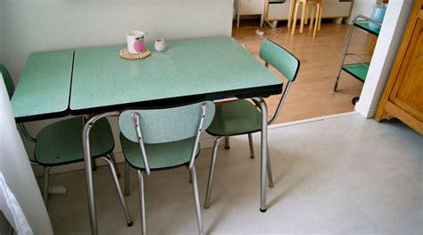 table de cuisine formica vert formica merci ginette