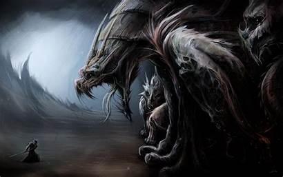 Fantasy Warrior Wallpapers Beasts Warriors Wallhaven Beast
