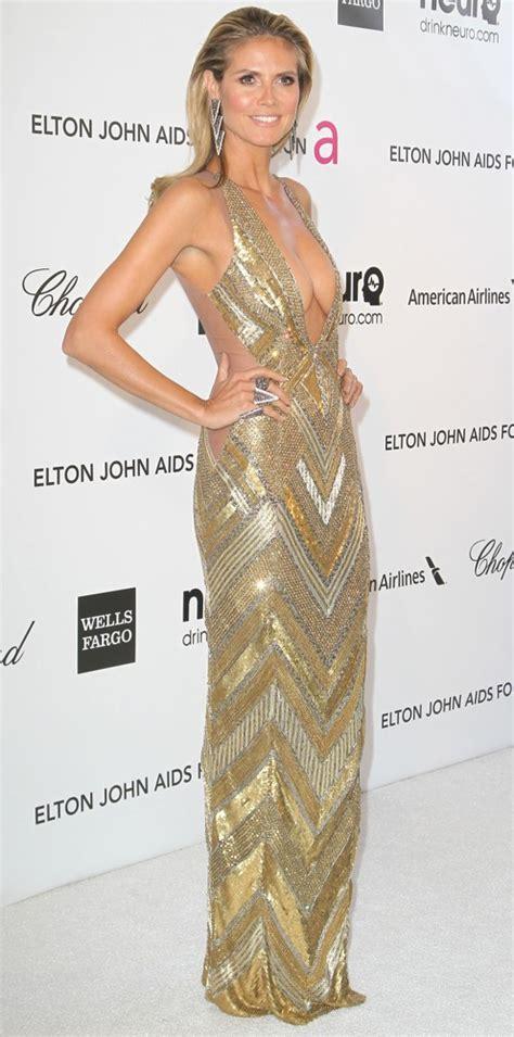Heidi Klum Picture Annual Elton John Aids