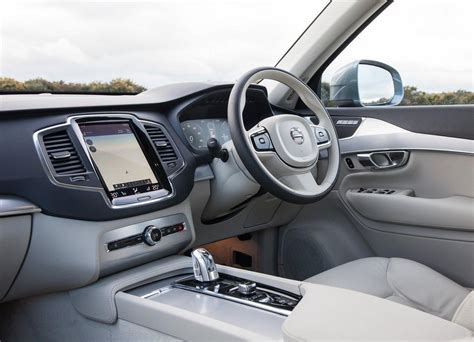 volvo xc interior pictures  car review