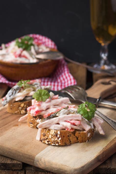 Naturjoghurt Selber Machen by Rezept Fleischsalat Selber Machen Mit Naturjoghurt