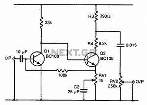 gt audio gt musical circuits gt fuzz box 3 l12733 nextgr With guitar fuzz circuit