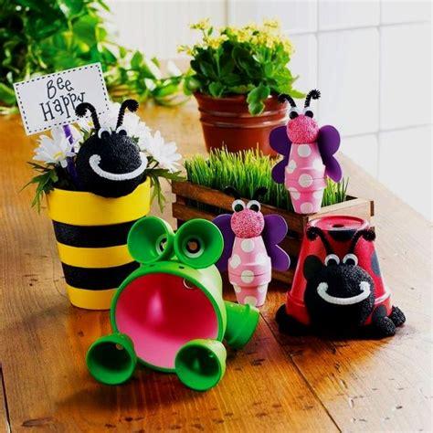 garden decor crafts flower pot crafts clay pot