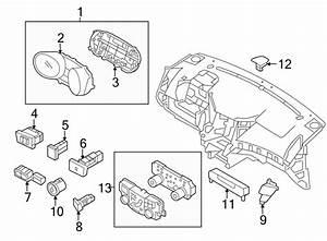 Hyundai Sonata Switch Assembly - Trunk Lid  U0026 Fuel Filler D
