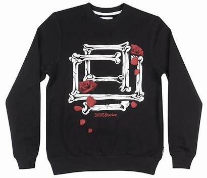 Dnine Sweatshirt Roses Urbanwear Crewneck Bones Reserve