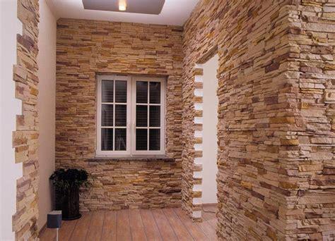 Отделка стен натуральным и искусственным камнем