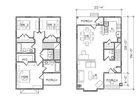 rambler house plans  walkout basement walkout basement house plans  porch waterfront