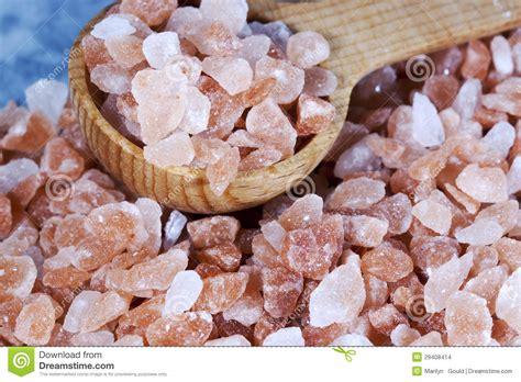 what is a himalayan salt l coarse himalayan pink salt spoon stock images image