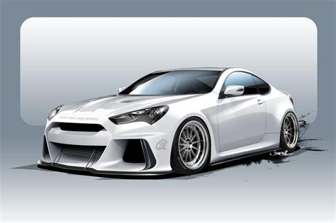 Hyundai Genesis Horsepower hyundai will into sema with a 500 horsepower genesis