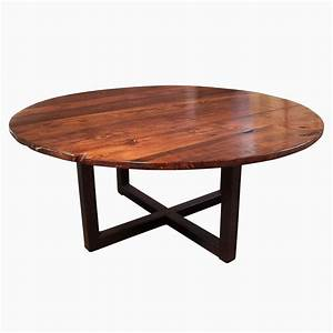 Buy a hand crafted large round coffee table with for Large circular coffee table