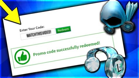 roblox promo codes   working promo codes youtube