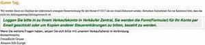 Amazon Rechnung Online : amazon e mail mit rechnung f r verk ufergeb hren ist eine ~ Themetempest.com Abrechnung