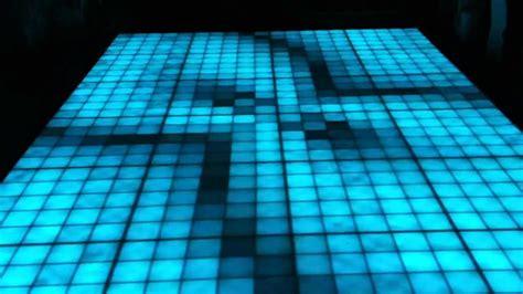 floor l upward lighting bellezza banquet hall custom l e d light up dance floor installation youtube