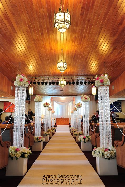 Church Wedding Aisle Designed By Celebrations In Grand