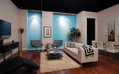 Tv Living Interior Apartment Floor Furniture Sofa